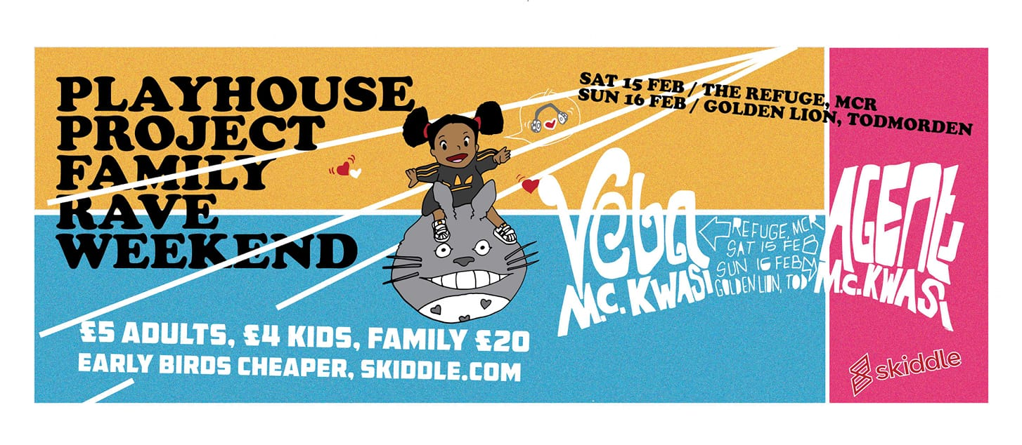 Playhouse Family Rave with DJ Veba - The Refuge