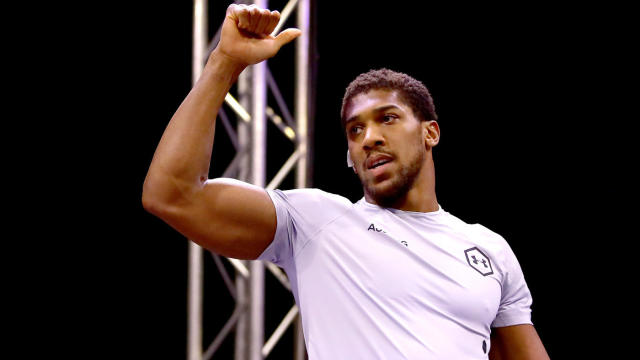 Anthony Joshua speaks On Fury Wilder