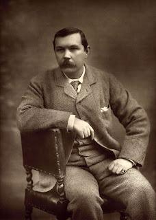 Sir Arthur Conan Doyle began writing mysteries in the 1880s