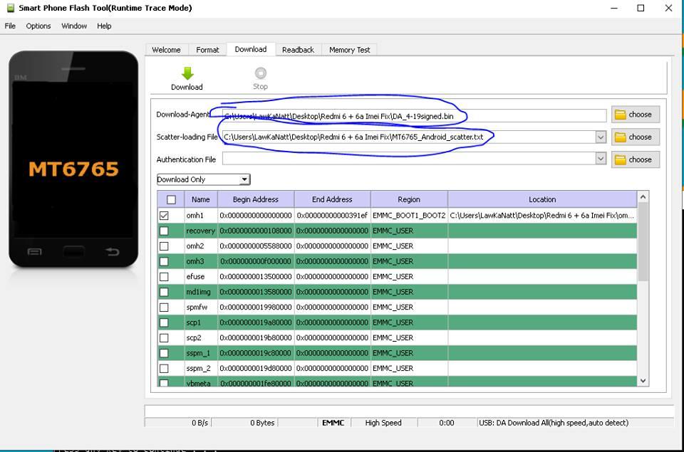 How to Fix Redmi 6/Redmi 6a No Service, Imei/Baseband(100