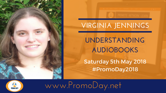 #Webinar: Understanding Audiobooks with Virginia Jennings #PromoDay2018