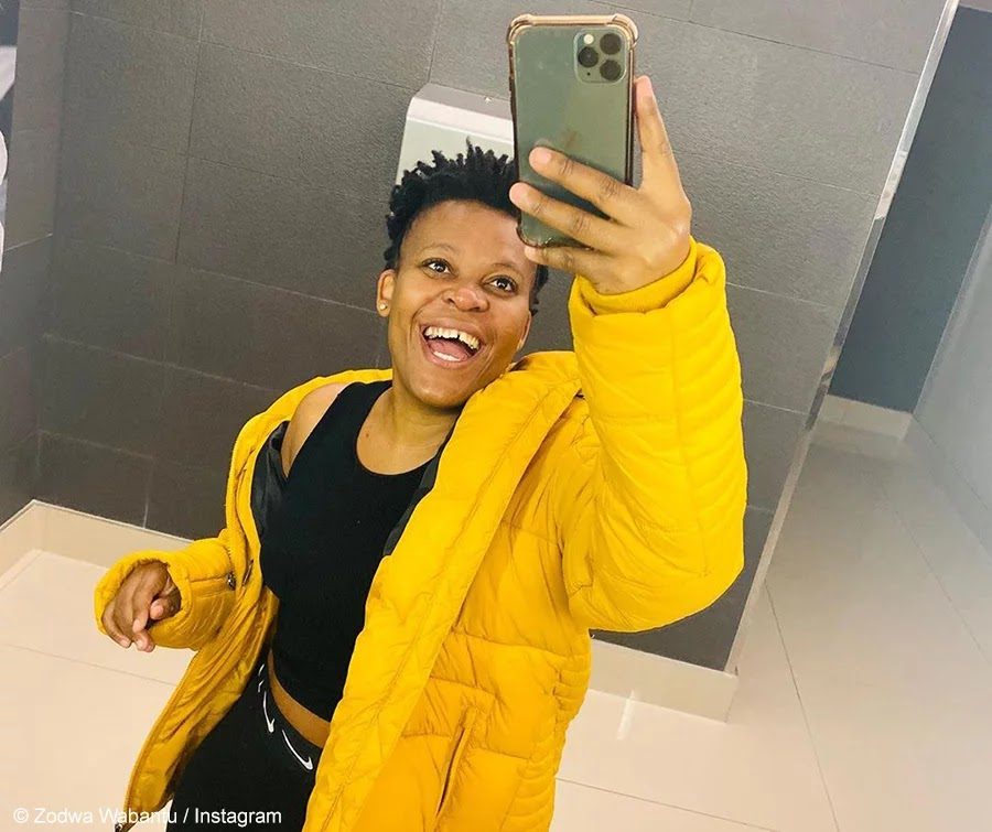 Zodwa Wabantu Celebrates Herself By Dancing In Extremely Skimpy Outfit