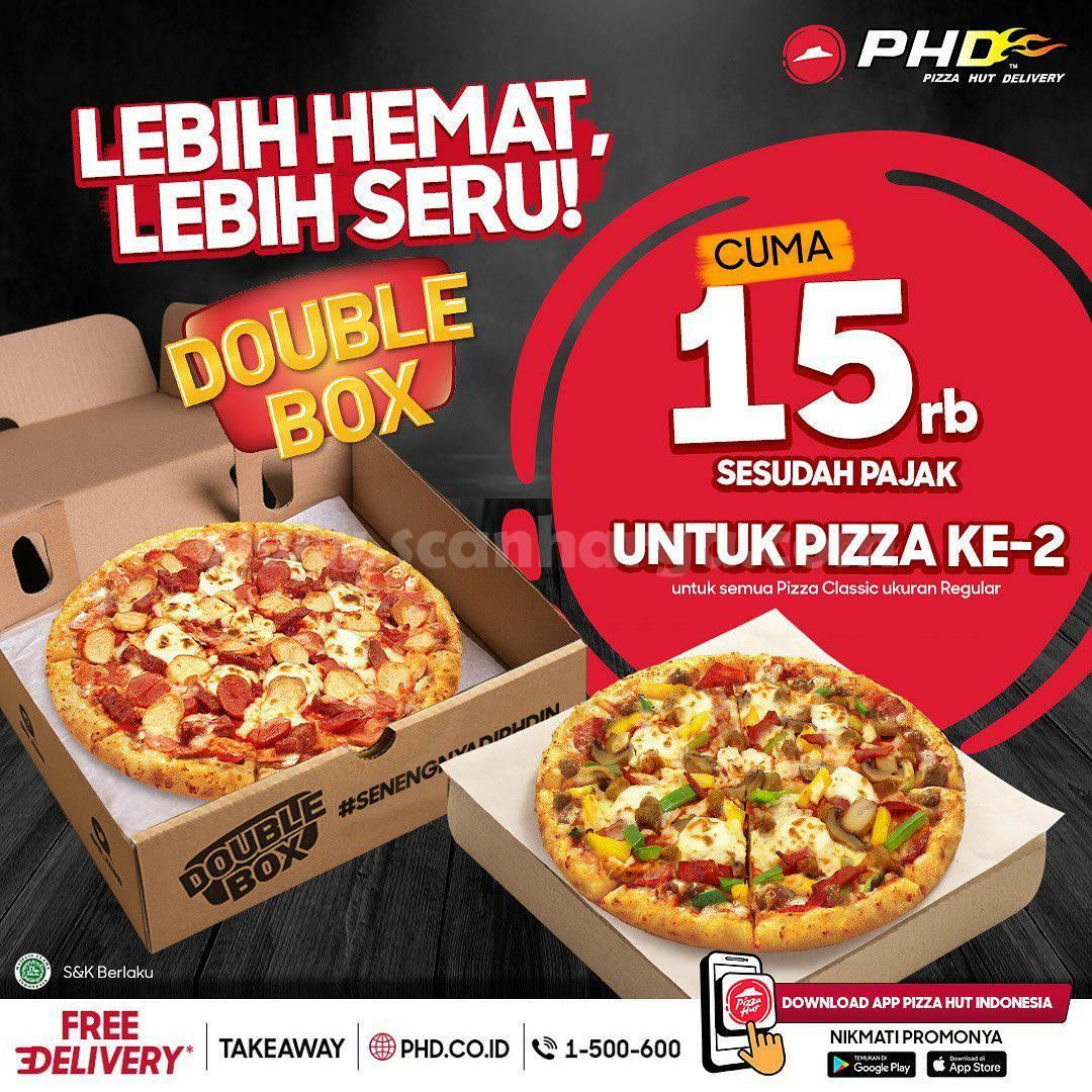 Promo PHD Pizza HEBOH – Harga cuma Rp15.000 untuk pembelian Kedua