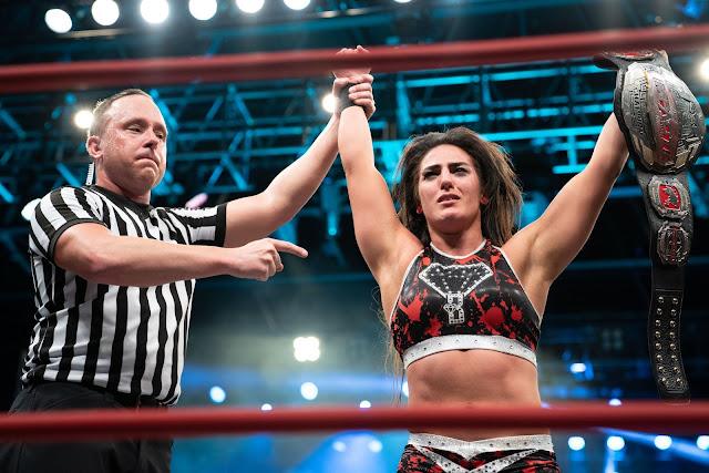 Tessa Blanchard az Impact Wrestling új világbajnoka!