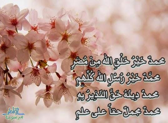 محمدٌ خَيْرُ خَلْقِ الله مِنْ مُضَرٍ