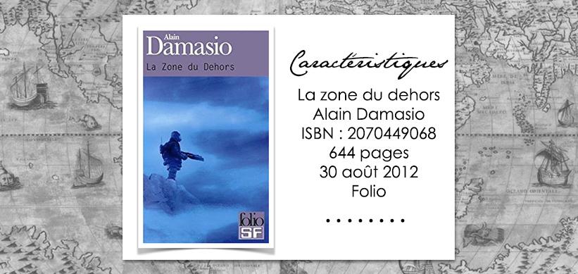 Couverture du livre La zone du dehors d'Alain Damasio