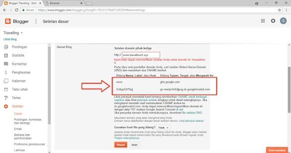 Cara Mengganti Domain di IDHostinger Untuk Blogspot Terbaru dan Work