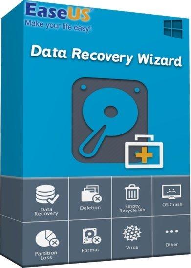 اسطوانة استعادة الملفات المحذوفة | EaseUS Data Recovery Wizard 13.5 WinPE
