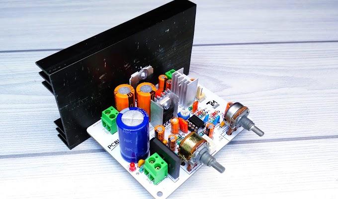 2.1 Amplifier TDA7379/ TDA7377 IC 0-12V
