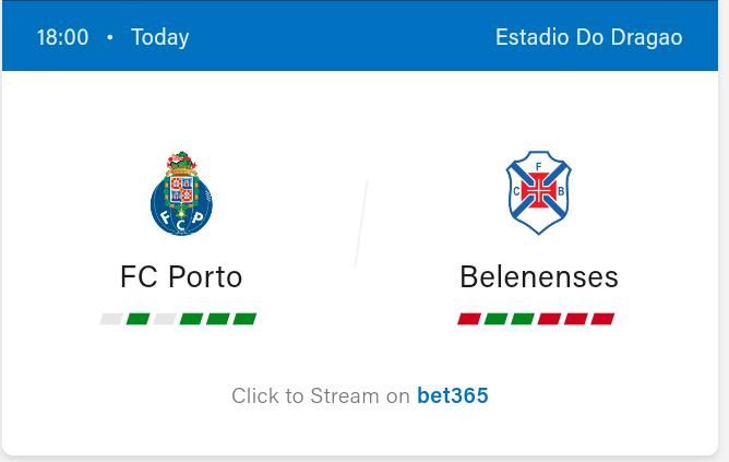 FC Porto vs Belenenses Football Preview and Predictions 2021