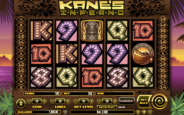 Main Gratis Slot Indonesia - Kane's Inferno Habanero