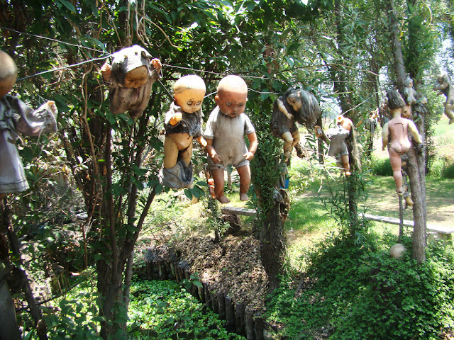 Island of Dolls, Xochimilco, Mexico