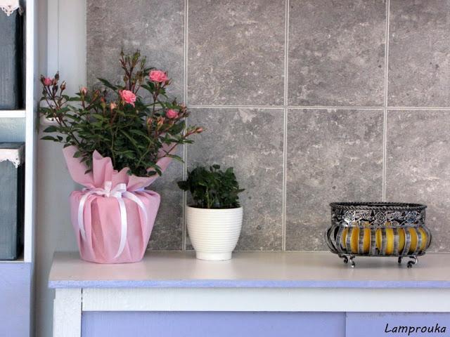 Ανακαίνιση εξοχικού κουζίνα και διακόσμηση.