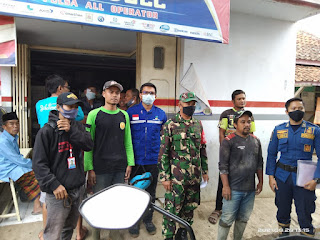 Musibah kebakaran menimpa salah satu warga Kp Pandak, Kerugian capai 74 juta rupiah