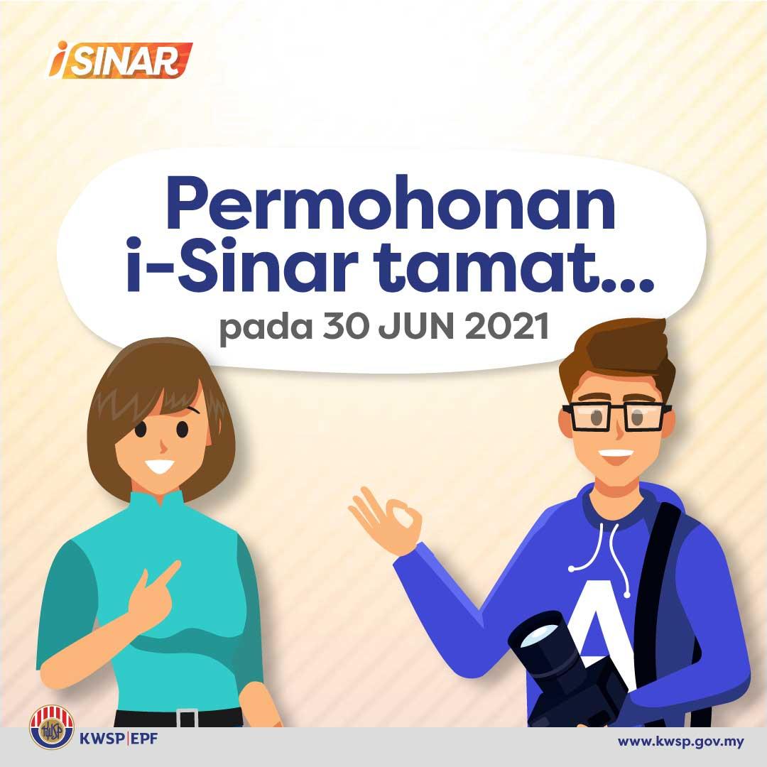 i-sinar tamat 30 jun 2021