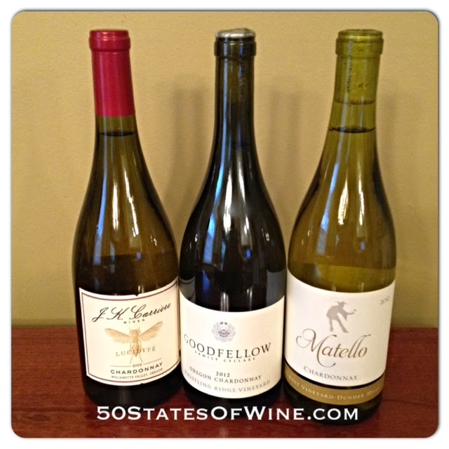 #WineStudio Oregon Chardonnays
