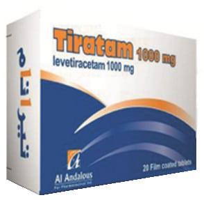 سعر ودواعي استعمال دواء تيراتام Tiratam لعلاج الصرع