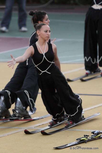 Rhythmic Gymnastics III - floor program Skis G