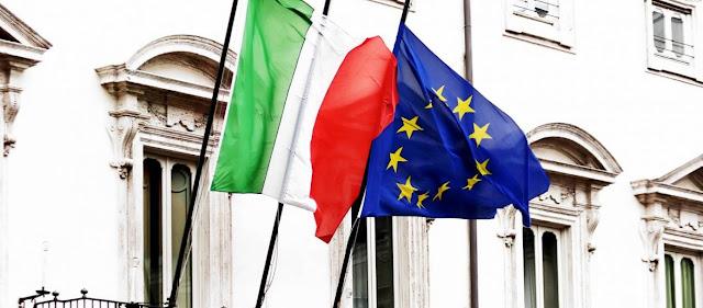 Ιταλία: Ο αντιπρόεδρος της Βουλής κατέβασε τη σημαία της ΕΕ!