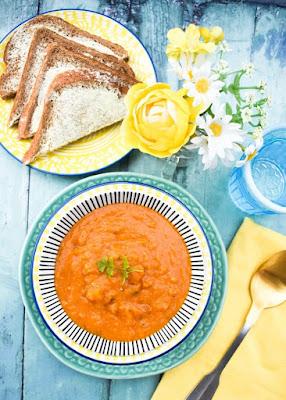Slow Cooker Lentil & Peanut Butter Soup