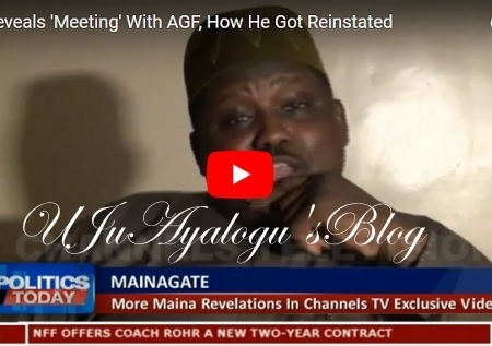 WATCH VIDEO...Malami SHOCKED When I Gave Him N1.3trn 'Gift' In January, Buhari Approved Our Meeting - Maina Opens ...Watch The Explosive Video Here