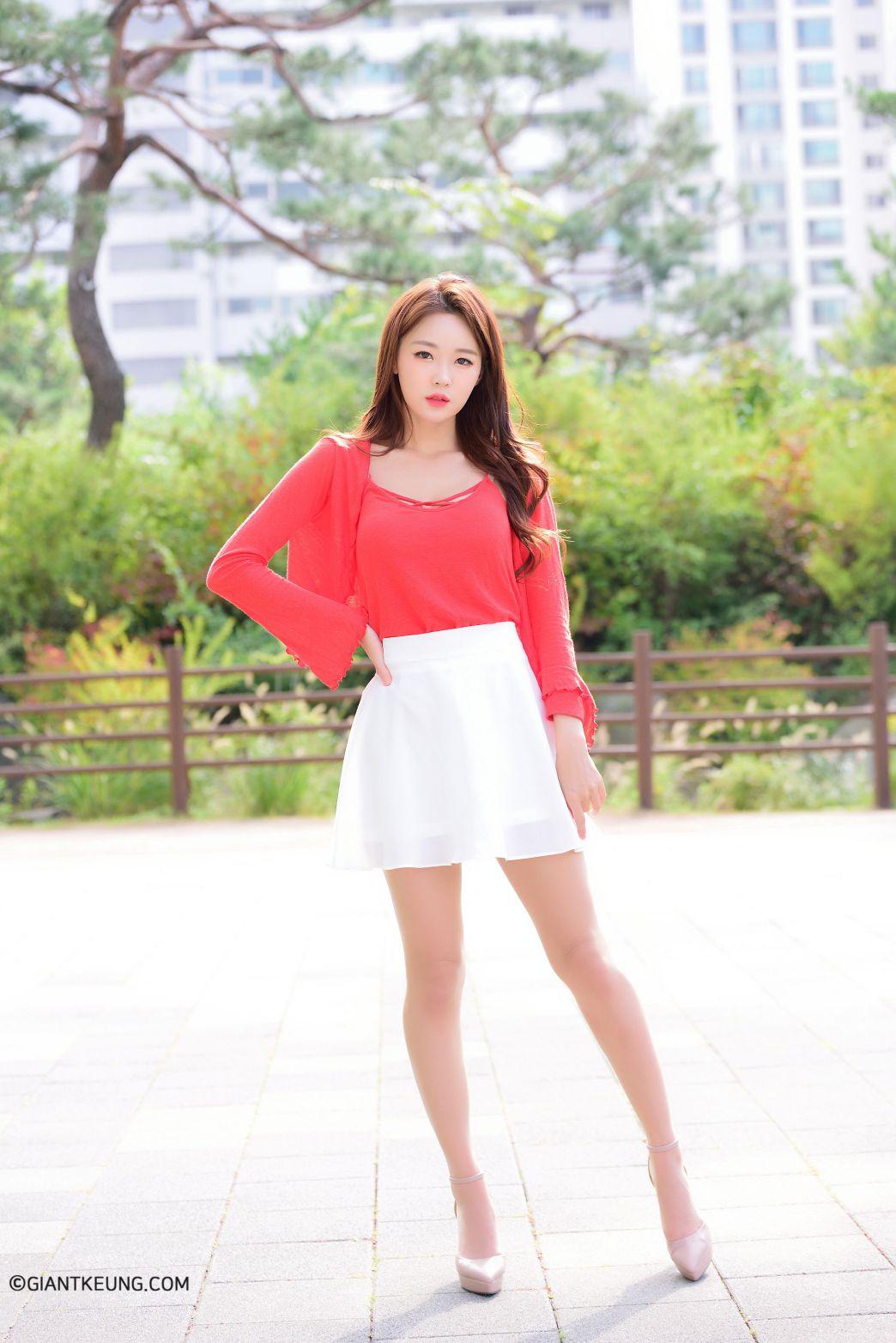 Jin Yu Ri (진유리) - 20190928 - Casual Outdoor 3 set Collection - TruePic.net
