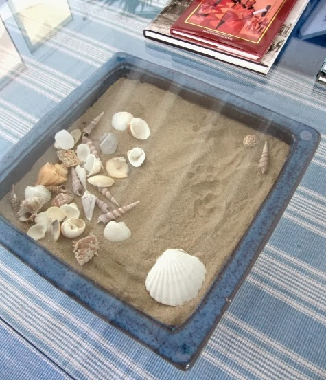 diy glass display table