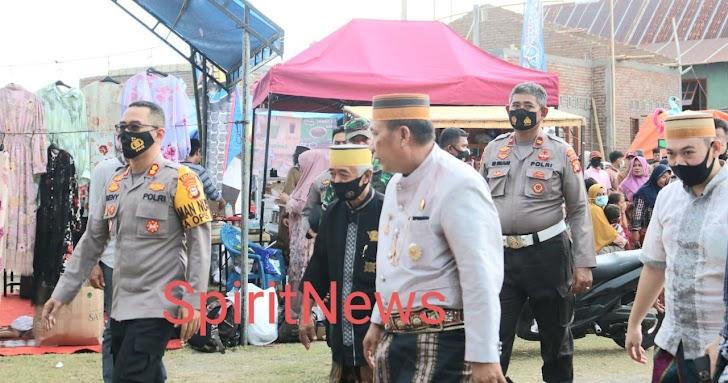 Kapolres Takalar Pantau Langsung Pengamanan Maudu Lompoa Cikoang