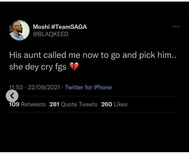 BBNaija: Saga's sister drags Biggie for playing with his brother's mental health, demands his eviction