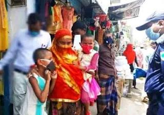 ক্রেতা-বিক্রেতা কে ভ্রাম্যমাণ আদালতের জরিমানা