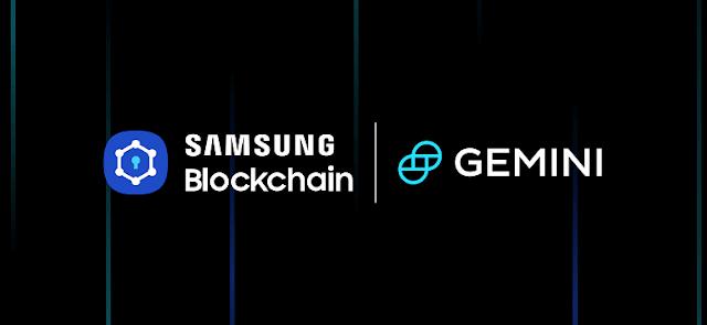 تتكامل محفظة Blockchain من سامسونج مع Gemini Crypto Exchange