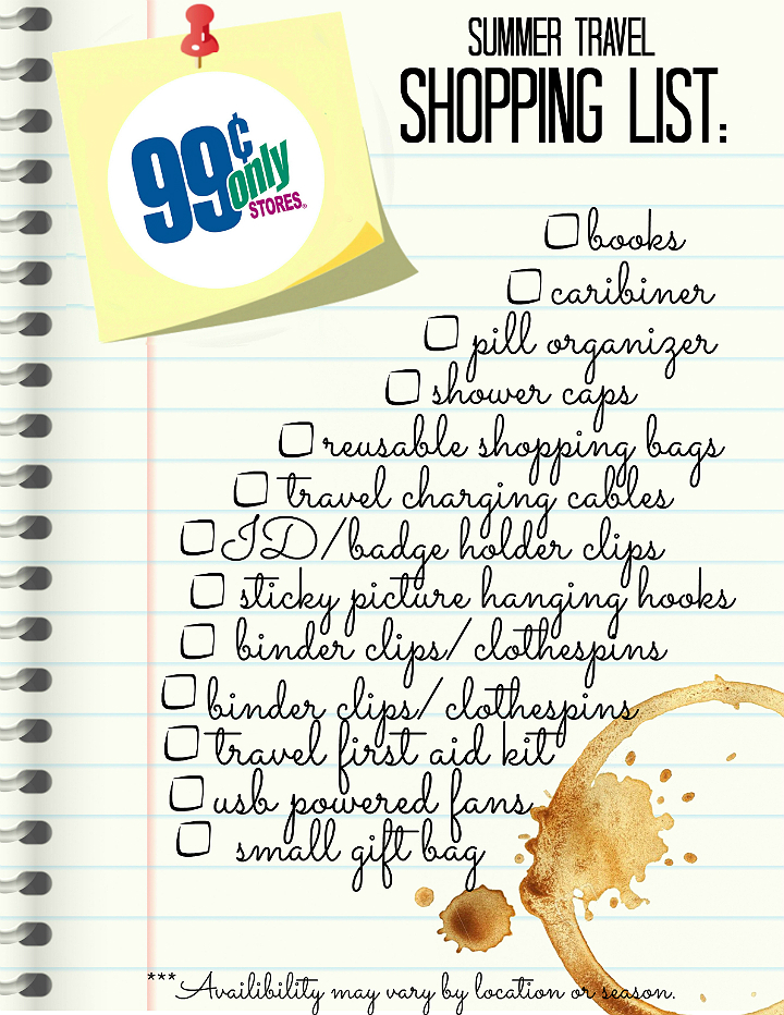 #99YourSummer with these simple Summer Vacation Hacks that'll save you dollars and headaches! #DoingThe99 #AD