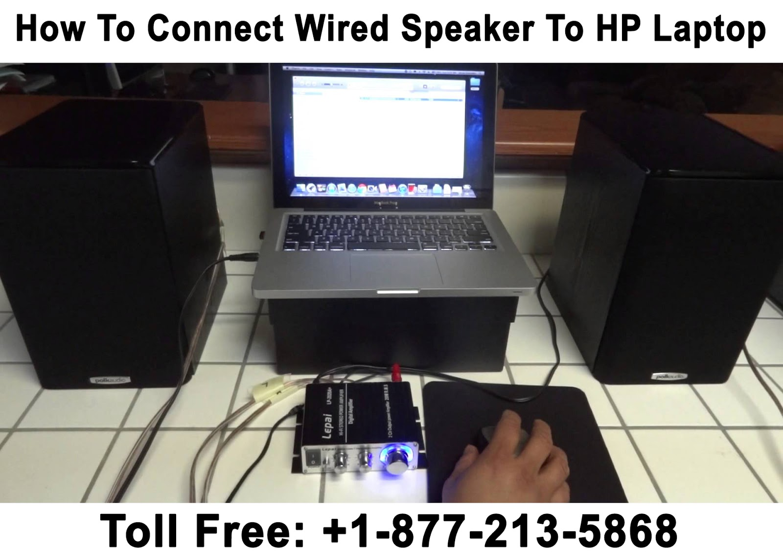how to connect wireless speaker to laptop