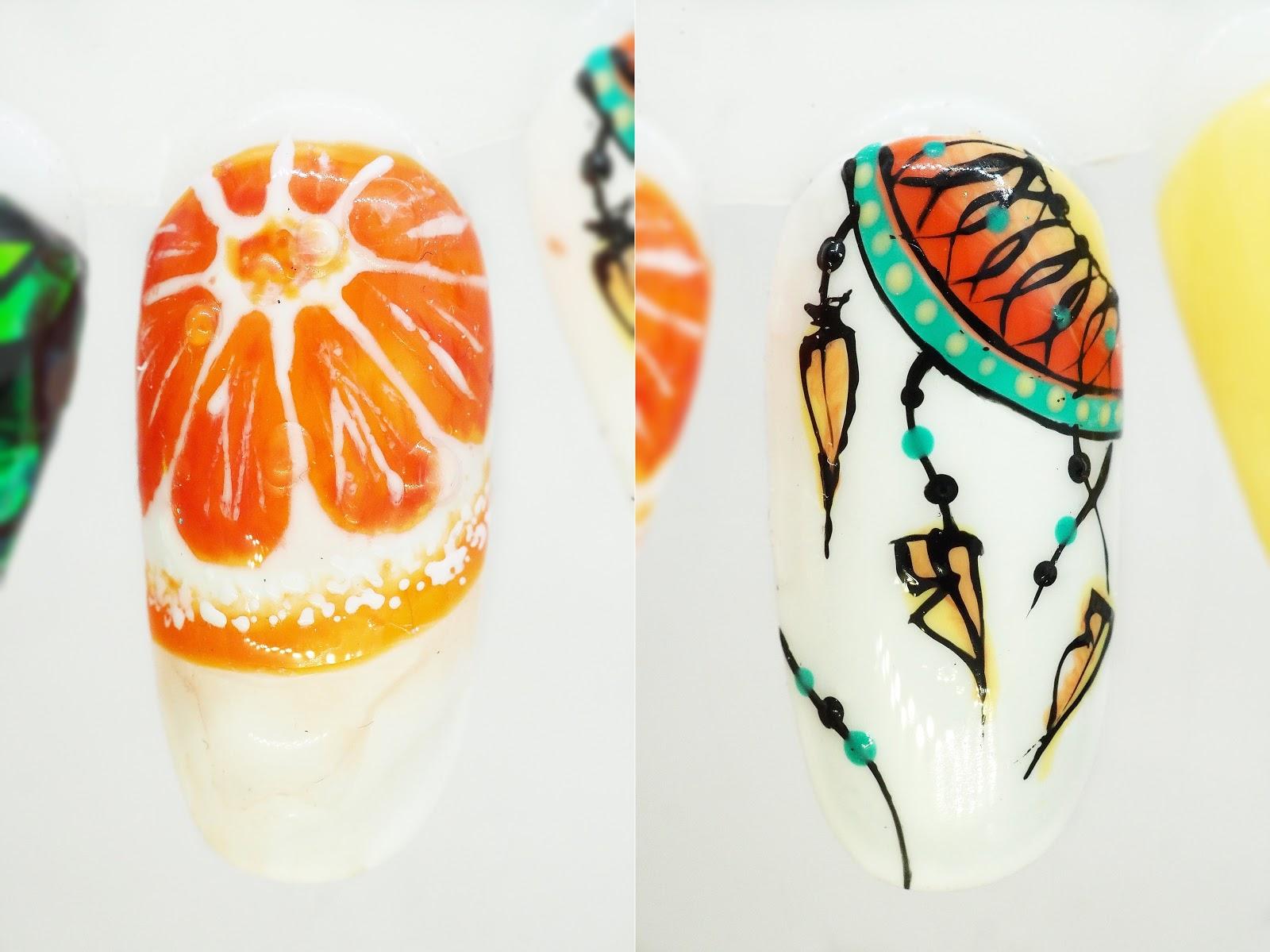 paznokcie letnie