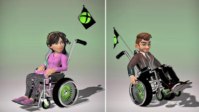 Xbox Boss Teases Wheelchairs for Avatars