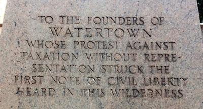 Watertown Founders Memorial 2