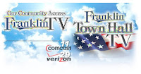 Franklin TV schedule for Monday - Town Hall