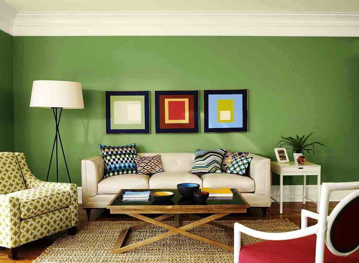Kombinasi Warna Cat Tembok Ruang Tamu