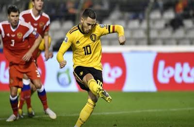 مباراة بلجيكا وروسيا live