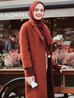 foto amanda rawles pake jilbab hijab kerudung