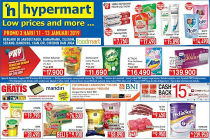 Promo Katalog Hypermart JSM Weekend 18 - 20 Januari 2019