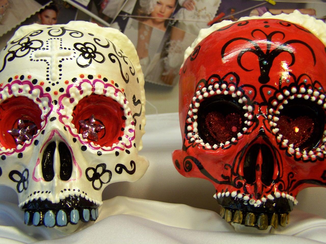 El Día De Muertos Es La Fiesta Favorita De Los Viajeros: Muñecos Y Figuras Personalizadas Para Tartas De Bodas