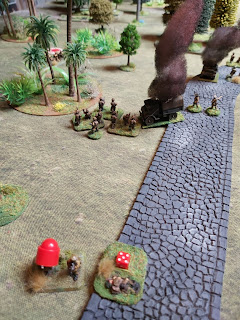 The MMG causes an Indian section to retreat
