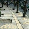 Heboh Tulisan Allah di Trotoar Bandung