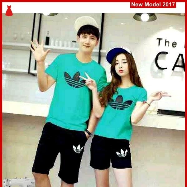 MSF0129 Model Couple Setelan Murah Adidas Tosca