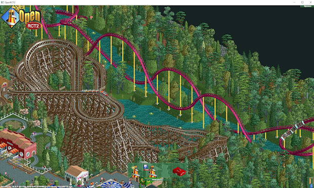 Theme Park Roller Coasters Tycoon 2 - Year of Clean Water