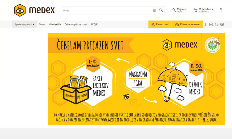 Nagradna igra Medex