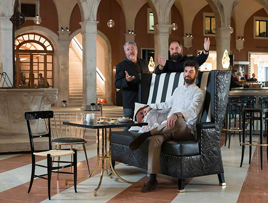Style legends amo il nuovo ristorante dei fratelli for Ristorante amo venezia prezzi