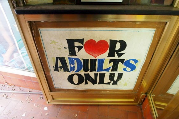 for adults only