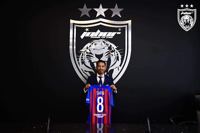 Safiq Rahim Kembali ke Pangkuan JDT.